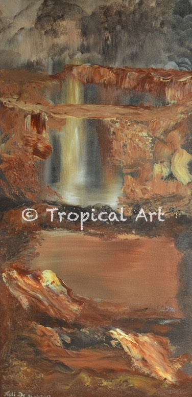 11 Brown Waterfall